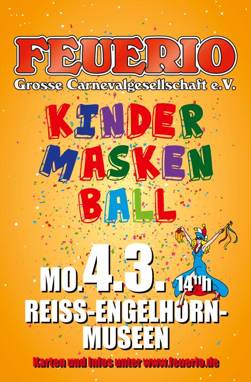 Kindermaskenball 2019