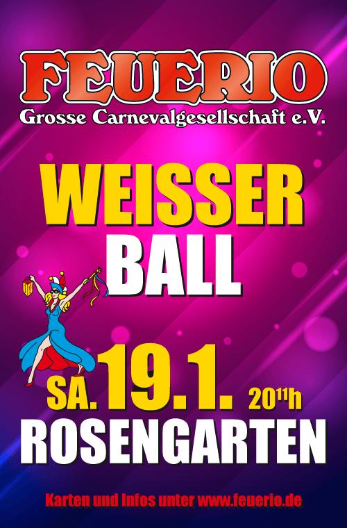 Weißer Ball 2019