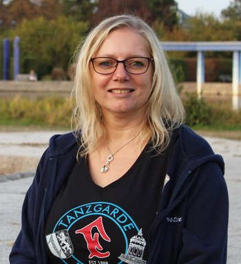 Betreuerin Kirsten Holzwarth