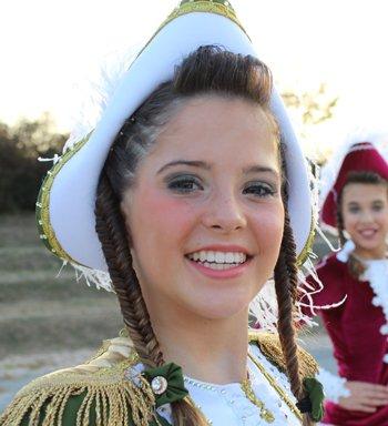Tanzmariechen Stella Reichert