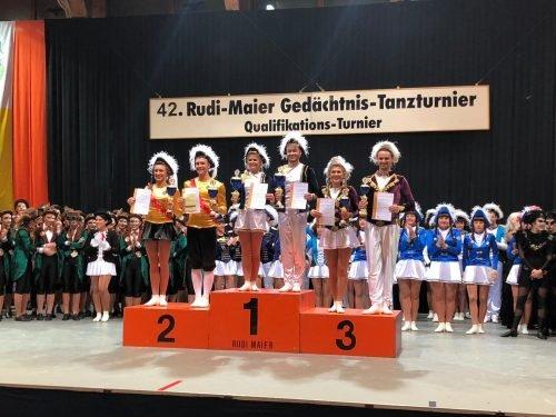Siegerehrung Ü15-Tanzpaare Reilingen