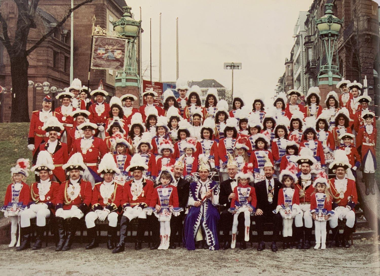 Prinzengarde 1996