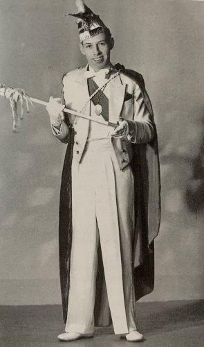 Prinz Ernst I., der erste Stadtprinz nach dem 2. Weltkrieg
