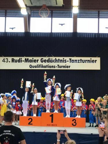 FEUERIO-Tanzgarde in Reilingen 2019 3