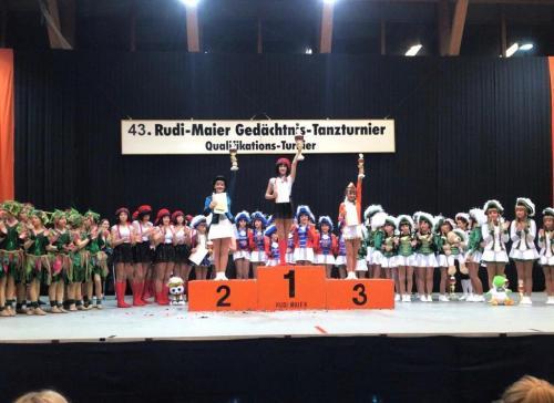 FEUERIO-Tanzgarde in Reilingen 2019 8