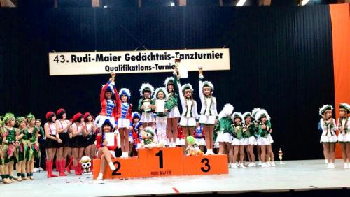 FEUERIO-Tanzgarde in Reilingen 2019 9